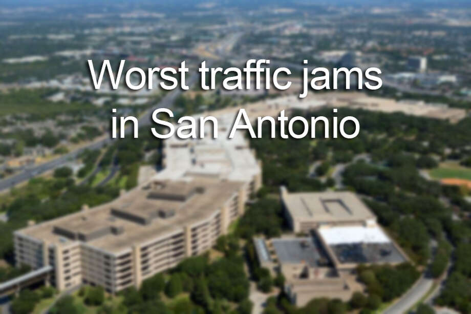 The Texas Department of Transportation has released its annual report on the top 100 congested roadways in the state. Click through the gallery to see the worst San Antonio traffic jams on the list.
