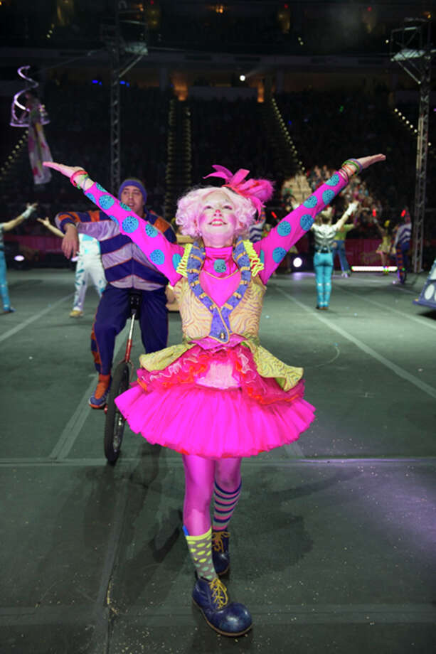 "Ringling Bros. and Barnum & Bailey brings its ""Built to Amaze!"" circus show to NRG Stadium through July 27."