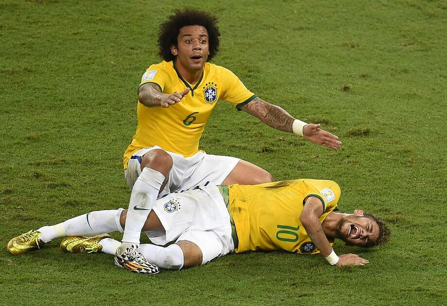 Soccer players get a lot of flak, especially in America, for their flopping and diving theatrics. Those dramatic expressions of pain are so commonplace, it's sometimes hard to tell when a player is actually injured. So were these footballers actually hurt — or taking a dive? First up, Brazil talisman Neymar... Photo: Odd Andersen, AFP/Getty Images