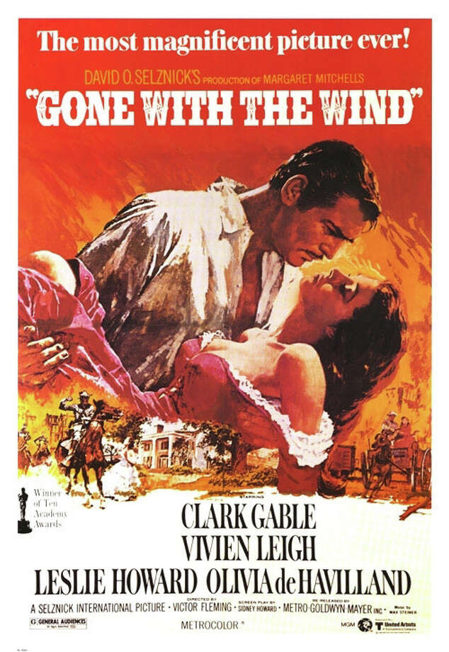 """Gone With The Wind""poster Photo: Contributed Photo, ST / Fairfield Citizen"