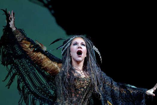 Mezzo-soprano Joyce DiDonato performs in the Metropolitan Opera's production of