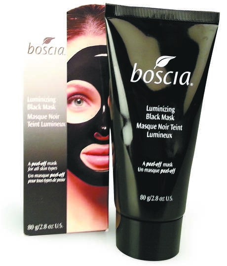 The Boscia Luminizing Black Mask is anything but gentle. Photo: Emily Spicer / San Antonio Express-News