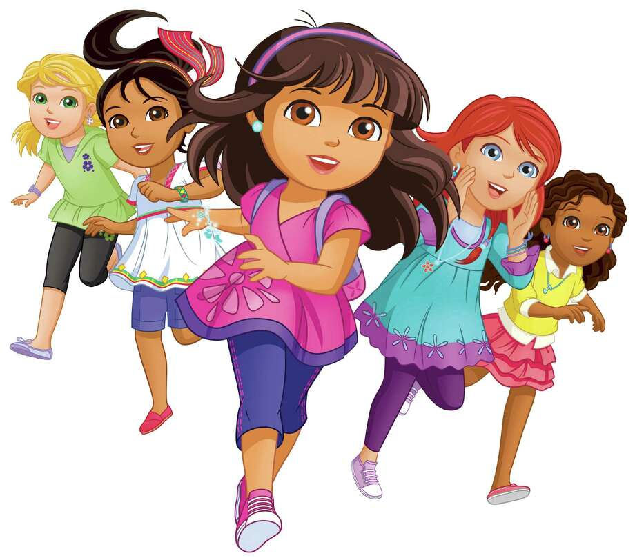 """Dora and Friends: Into the City!"" is a spinoff from Nickelodeon's popular ""Dora the Explorer."" In the new show, Dora is now 10 years old and, with her friends, works to give back to her community."