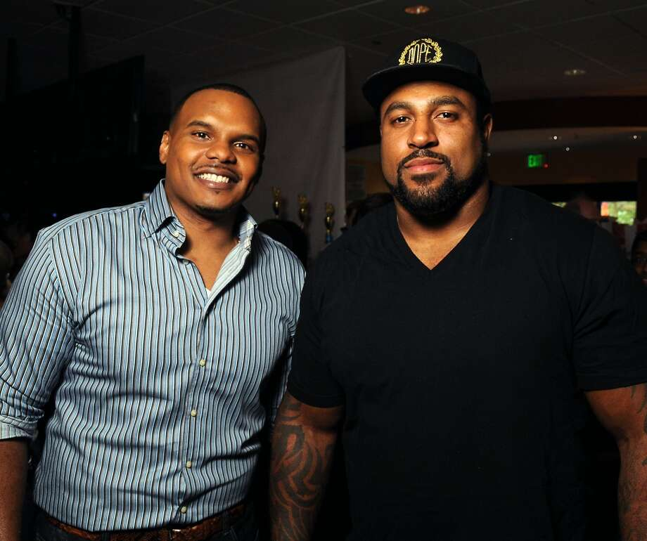 Chester Pitts and Duane Brown Photo: Dave Rossman, For The Houston Chronicle