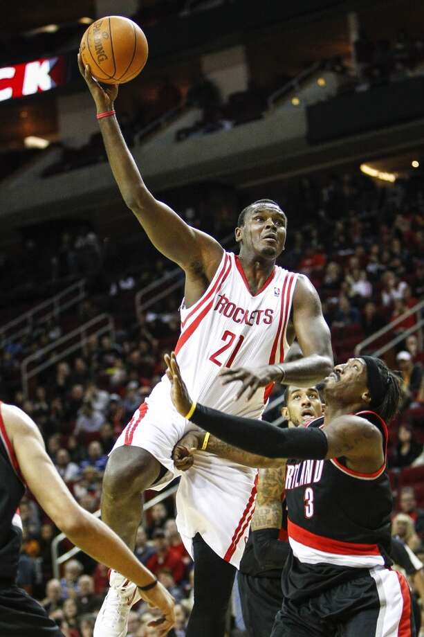Dec. 26, 2011 – Samuel Dalembert, center Signed just before the start of the lockout-shortened season, Dalembert gave the Rockets what the expected, but was generally a stop-gap after Yao Ming retired. Photo: Michael Paulsen, Houston Chronicle