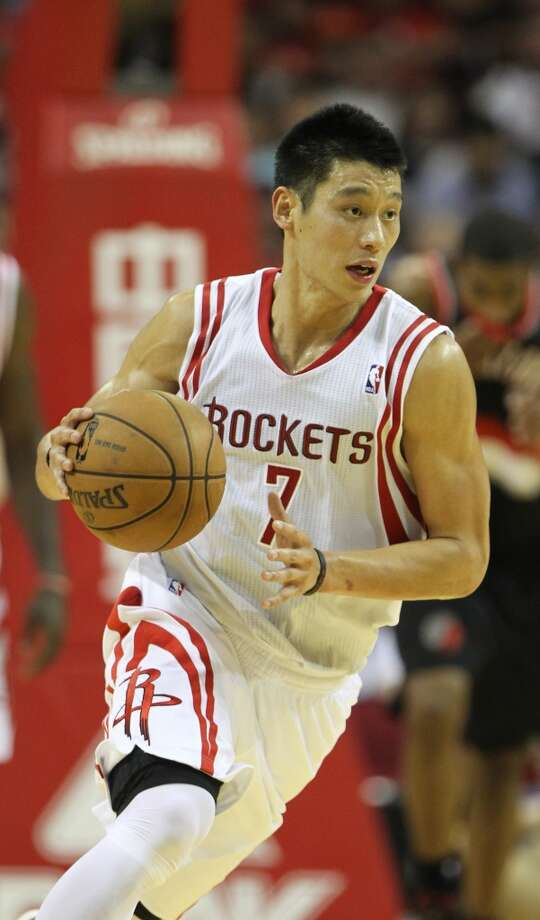 July 17, 2012 – Jeremy Lin, point guardThe Knicks opted against matching the offer sheet for Lin, making him the Morey's biggest free agent signing at the time. He has been a reliable scorer as a starter and off the bench, but could not recapture Linsanity. Photo: Karen Warren, Houston Chronicle