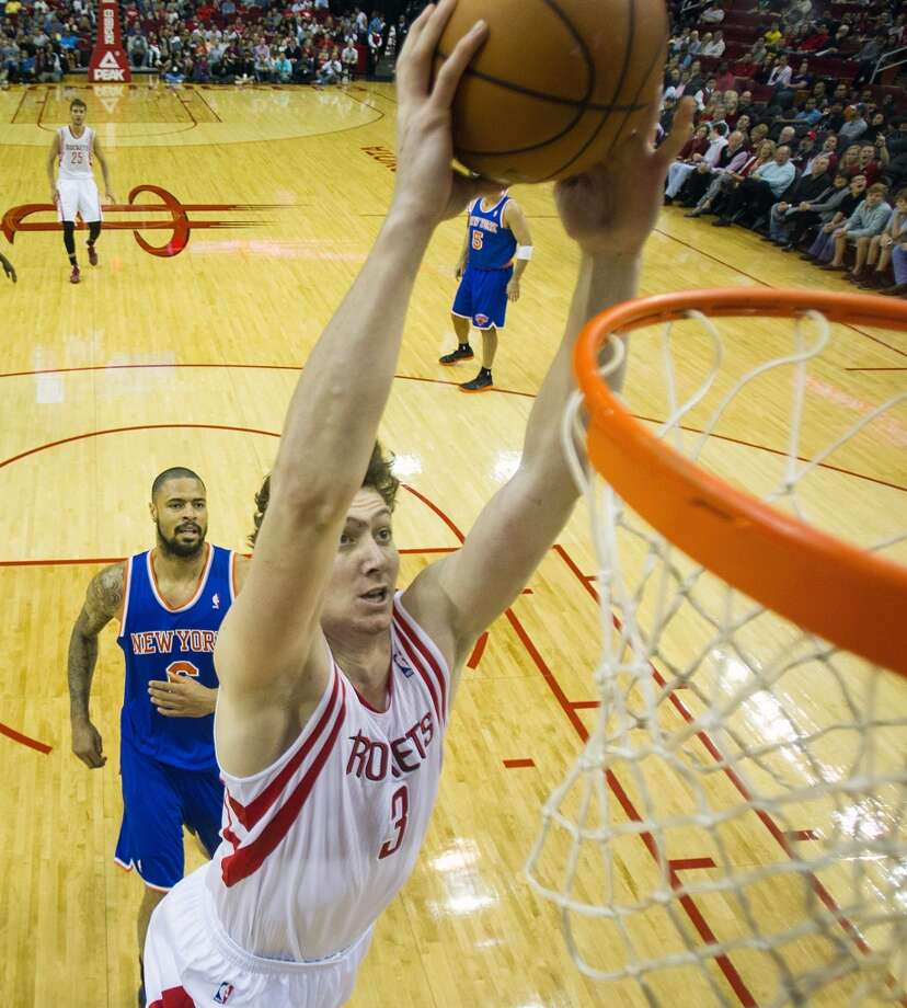 July 24, 2012 – Omer Asik, centerAsik became one of the league's top defensive centers after the Bulls opted against matching his offer sheet, but chafed at coming off the bench when the Rockets signed Dwight Howard and will be dealt to New Orleans. Photo: Smiley N. Pool, Houston Chronicle