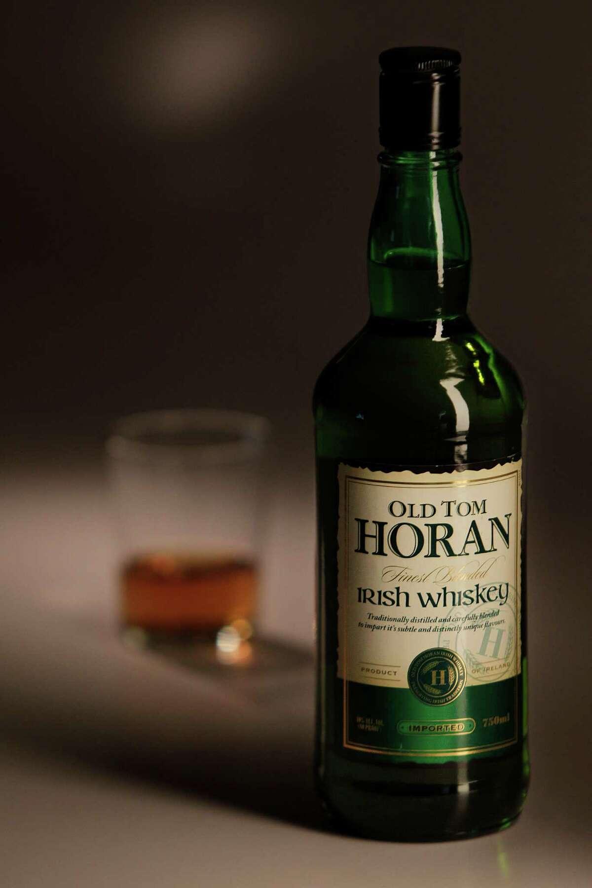 Old Tom Horan Irish Whiskey on July 8, 2014, in Houston, Tx. ( Mayra Beltran / Houston Chronicle )