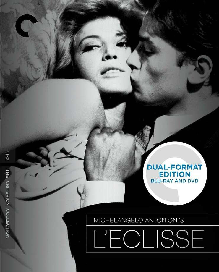 """Blu-ray/DVD cover: """"L'Eclisse"""" Photo: Criterion Collection"""