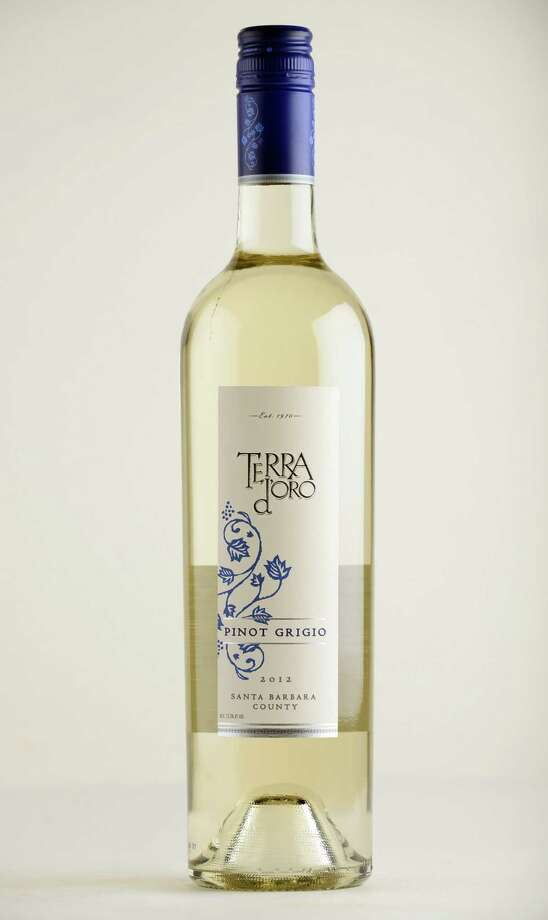 Terra d'oro Pinot Grigio, 2012 California Monday May 12, 2014, at the Times Union in Colonie, N.Y. (Will Waldron/Times Union) Photo: WW