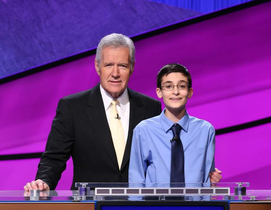 "William Golden, 13, is an 8th grader at Houston's Harmony School of Excellence. He competed with students between the ages of 14 to 17 from across the country on an upcoming episode of ""Jeopardy!"" (Courtesy Sony Pictures Television)"