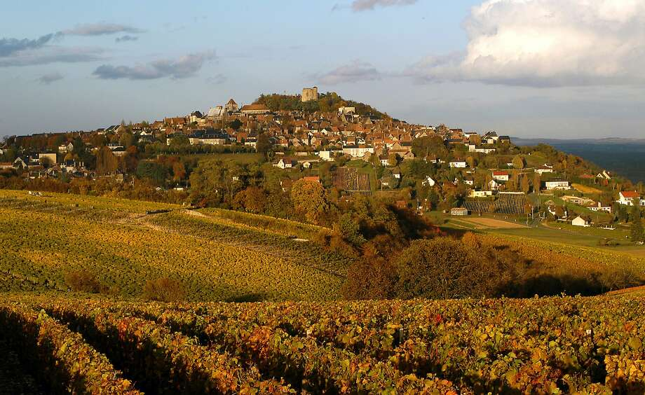 A hilltop city on the Loire River, Sancerre gives its name to France's best-known Sauvignon Blanc appellation. Photo: AP