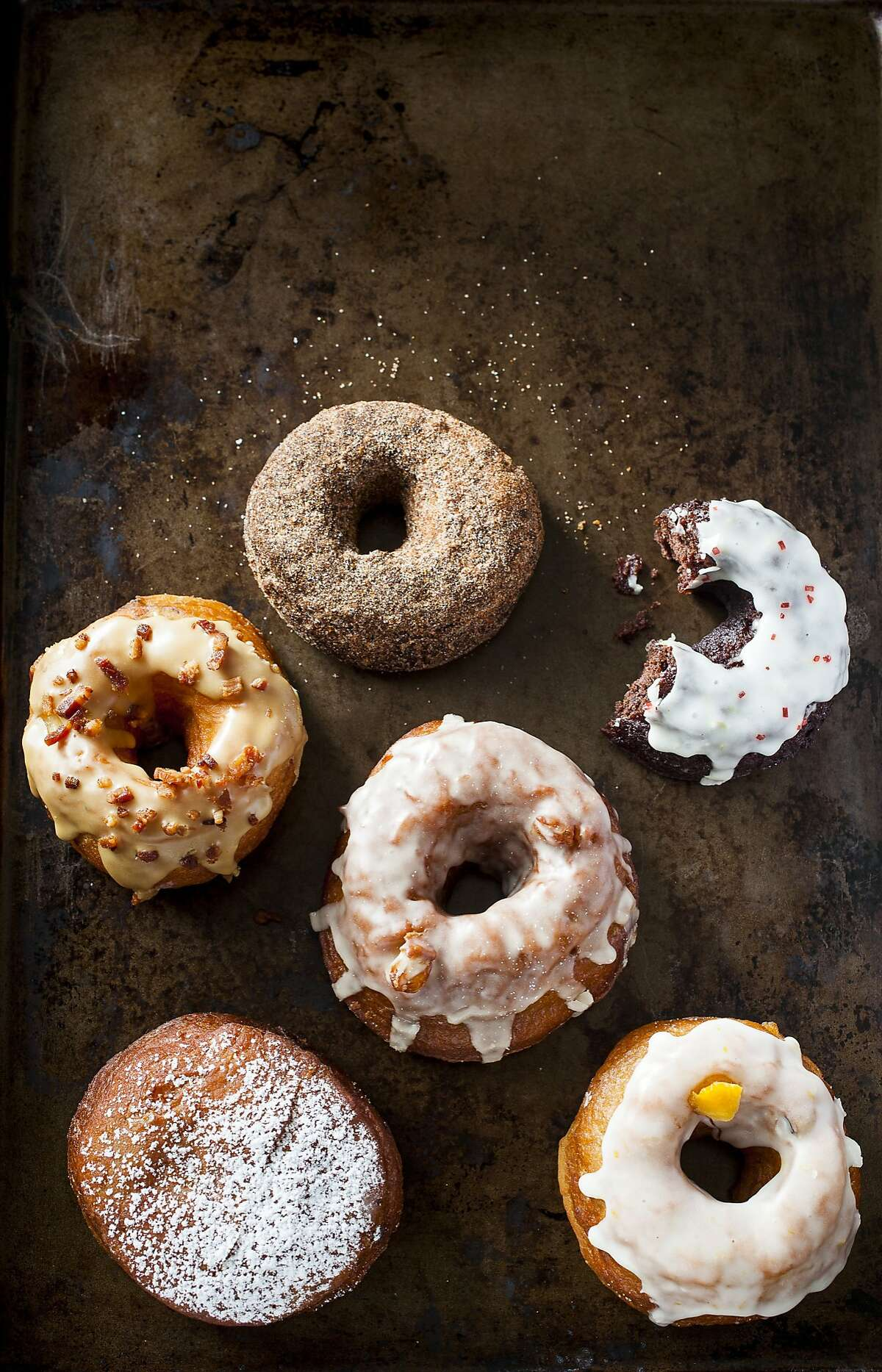 Donuts from Dynamo Donuts