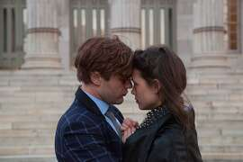 "Michael Pitt and Astrid Berges-Frisbey in ""I Origins"" NOTE: ""Berges"" has accent grave on the second ""e"" _MG_8539.CR2"