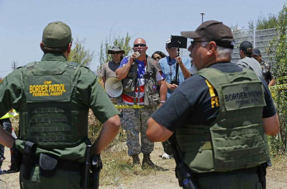 The uproar over the humanitarian crisis at the U.S.-Mexico border has sent the message that the border is chaotic and wide open, launching a flood of immigrants other than children. Photo: David Kadlubowski / Associated Press / The Arizona Republic