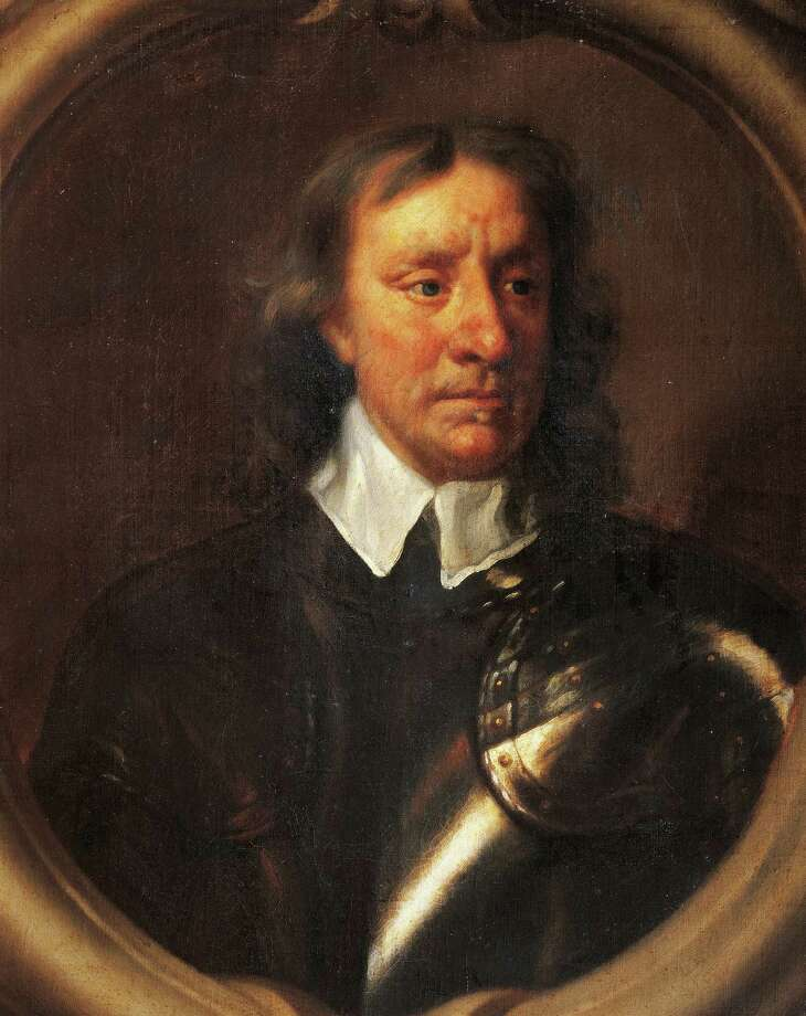 "Devout Puritan solider Oliver Cromwell assumed the title of ""Lord Protector"" of England in 1653 after his forces defeated King Charles I. He served in the position until his death in 1658. King Charles II eventually restored the monarchy in 1660. Photo: DEA / G. DAGLI ORTI, Getty Images / DeAgostini"