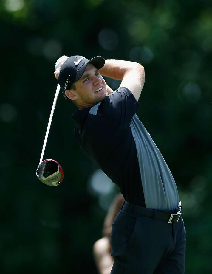 BETHESDA, MD - JUNE 28: Patrick Rodgers of the United States  watches his tee shot on the fourth hole during the third round of the Quicken Loans National at Congressional Country Club on June 28, 2014 in Bethesda, Maryland.  (Photo by Patrick McDermott/Getty Images) Photo: Patrick McDermott, Getty Images
