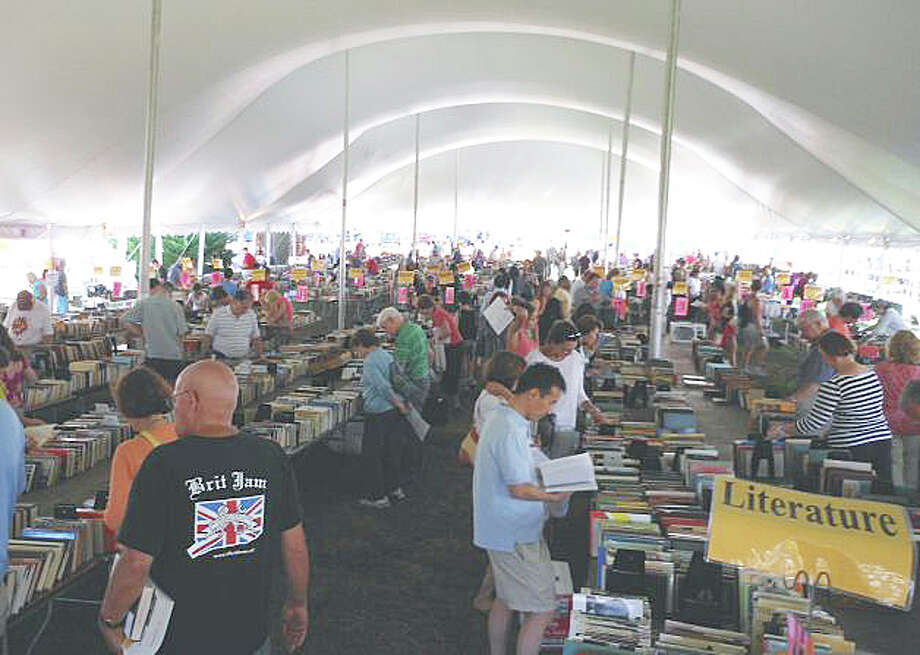 The Westport Library Summer Book Sale will be held this year from Saturday, July 19 through Tuesday, July 22. Photo: Staff Photo / Fairfield Citizen