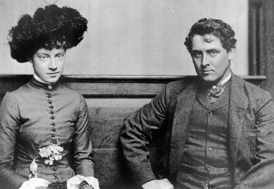 In 1882, Anna Dwight Baker, left, was engaged to artist Julian Alden Weir, right. The two exchanged love letters over that summer. Those letters will be discussed during a special program on Saturday, July 19, at Weir Farm National Historic Site. Photo: Contributed Photo / The News-Times Contributed