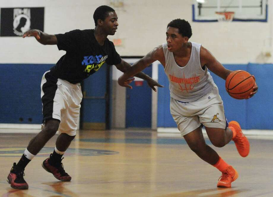 Photos from Danbury's 53-44 win over Immaculate in the high school basketball suumer league game at the Danbury War Memorial in Danbury, Conn. Wednesday, July 9, 2014. Photo: Tyler Sizemore / The News-Times