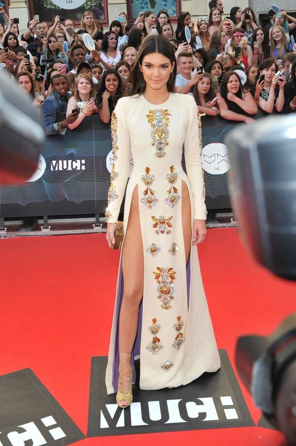Kendall Jenner arrives at the 2014 MuchMusic Video Awards at MuchMusic HQ on June 15, 2014 in Toronto, Canada. Photo: Sonia Recchia, Getty Images