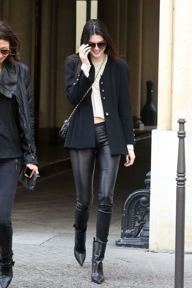Kendall Jenner is seen strolling on February 28, 2014 in Paris, France. Photo: Marc Piasecki, Getty Images