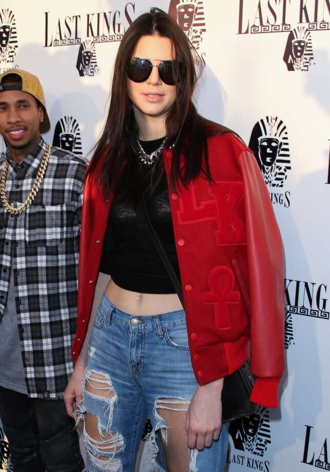 "Kendall Jenner attends the press preview at Tyga's ""Last Kings"" flagship store on February 20, 2014 in Los Angeles, California. Photo: Paul Archuleta, FilmMagic"