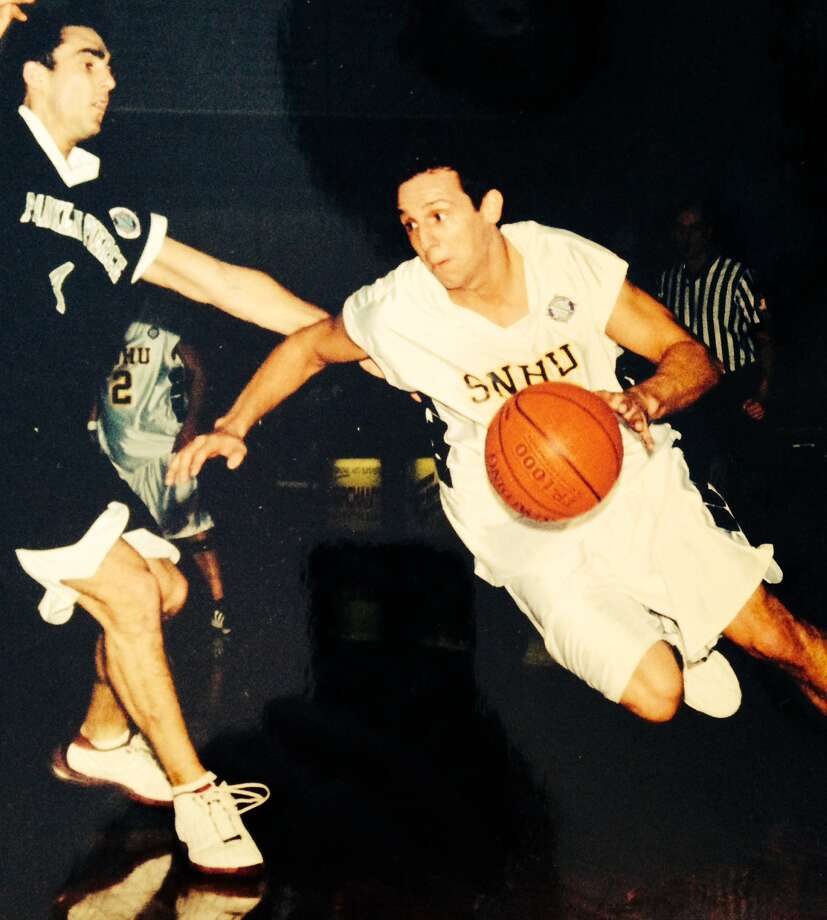 Brian Larrabee, former Colonie basketball star who played collegiately at Southern New Hampshire.