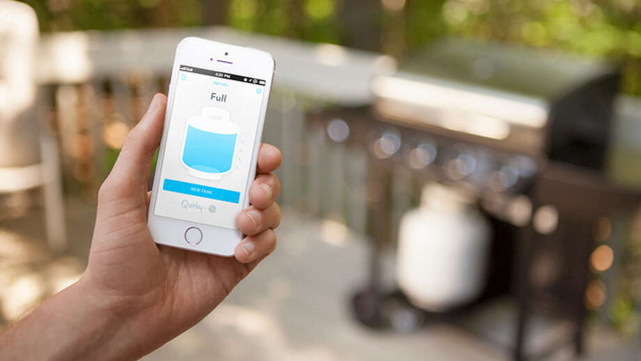GE and Quirky, a New York City invention company, released the app-enabled gas gauge this week.