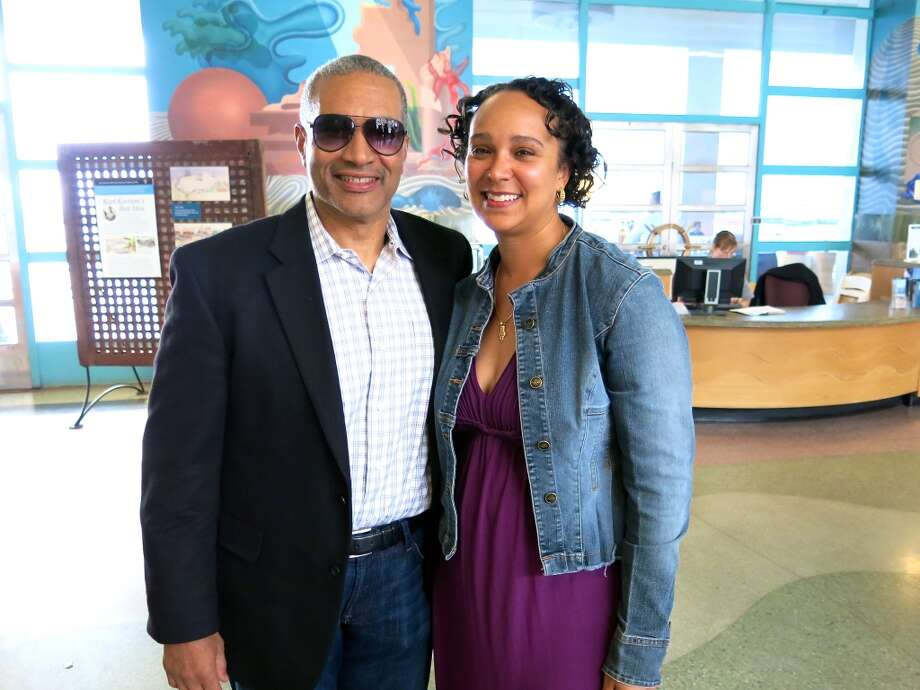 SFPUC general manager Harlan Kelly, Jr. and his wife, City Administrator Naomi Kelly. Photo: Catherine Bigelow