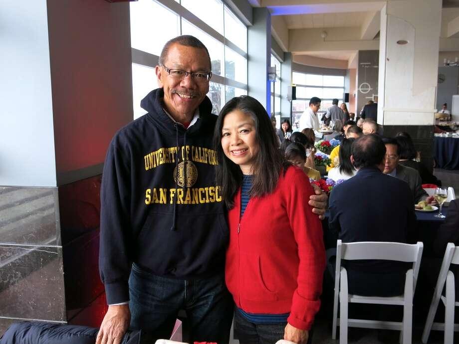 Supervisor Norman Yee and his wife, Cathy Yee. Photo: Catherine Bigelow