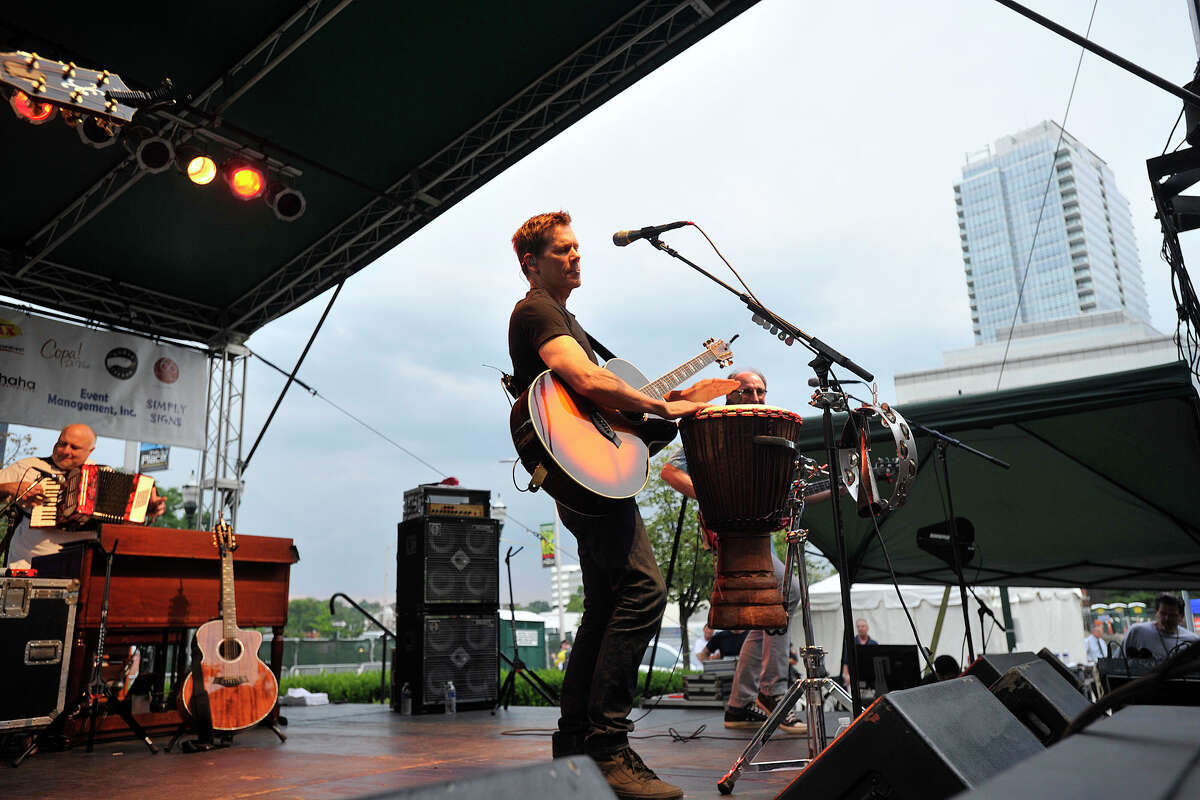 The Bacon Brothers, comprised of Kevin and Michael Bacon, will perform at the Ridgefield Playhouse on Friday. Find out more.