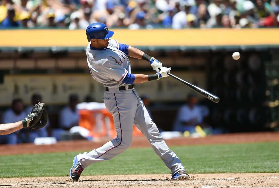 Alex Rios — RF, Texas Rangers2014 stats: .304 average, 89 games, 345 at-bats, 105 hits, 39 RBIs, 4 home runs, 14 stolen basesThe right-hander is a career .304 hitter at Safeco Field, and is having one of his best seasons at age 33. Acquiring Rios would liekly bump Michael Saunders out of right field, but Saunders has played left field before and been fine defensively. Rios' value is high right now, and with the Rangers stumbling through the 2014 season, they might be willing to let go of Rios, who is at the end of his contract. Photo: Thearon W. Henderson, Getty Images