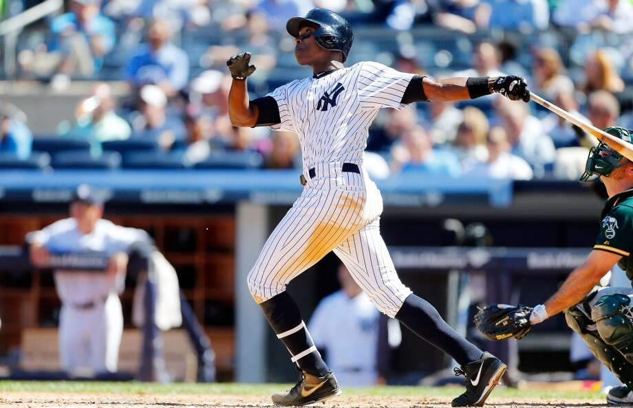 Alfonso Soriano— OF, New York Yankees (recently designated for assignment) 2014 stats: .221 average, 67 games, 226 at-bats, 50 hits, 23 RBIs, 6 home runs, 1 stolen base After the Yankees designated him for assignment on Sunday, Soriano's future in baseball is up in the air. But should he choose not to retire, there's an off-chance the career .270 hitter and seven-time All Star could become a somewhat significant contributor for a contender. Photo: Jim McIsaac, Getty Images