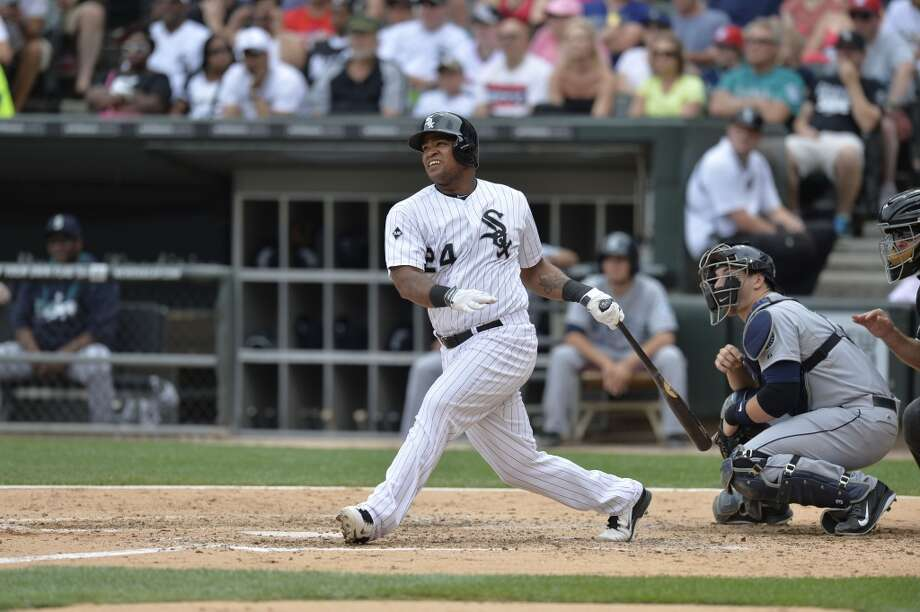 Dayan Viciedo — OF, Chicago White Sox  2014 stats: .252 average, 87 games, 318 at-bats, 80 hits, 34 RBIs, 11 home runs, 0 stolen bases Though the Mariners' trade talks with Viciedo are reportedly cooling off, the right-handed left fielder would be a good pickup for the Mariners. The 25-year-old Viciedo has the potential to provide power, and would be a definite upgrade at a relatively low price. Photo: Brian D. Kersey, Getty Images