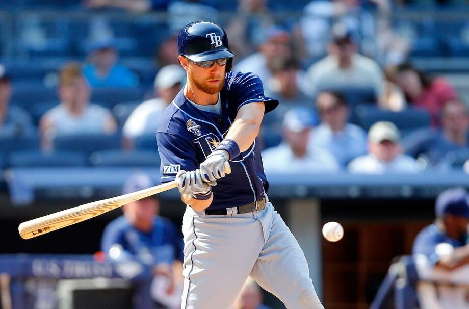 Ben Zobrist — IF/OF, Tampa Bay Rays  2014 stats: .268 average, 79 games, 306 at-bats, 82 hits, 21 RBIs, 6 home runs, 4 stolen bases Zobrist's versatility is most enticing — most of his career starts come at second base (522), but he's not inexperienced in the outfield (362 career starts) or at shortstop (217). Thus, he could be a solid replacement for either Ackley or Miller. It's a longshot that he comes to Seattle — even if Zobrist does get traded by the Rays, there will be plenty of other teams clamoring for his talents. Photo: Jim McIsaac, Getty Images