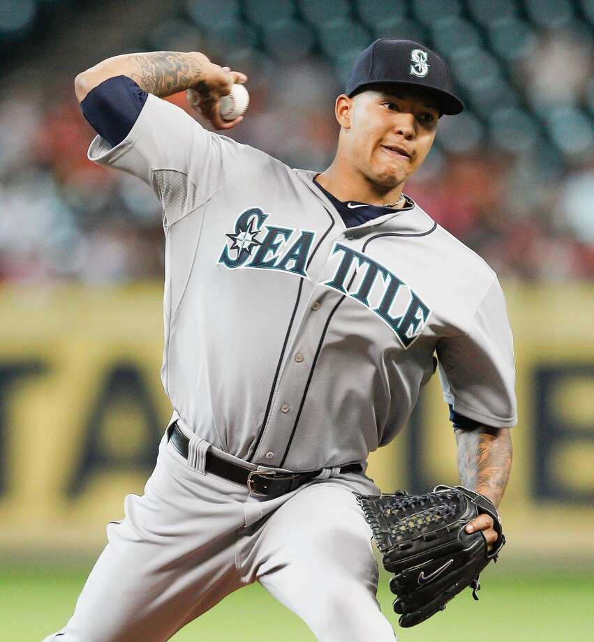 Potential trade chipsTaijuan Walker — SPIf the Mariners decide to make a huge move, there's a good chance Walker will be involved. He's arguably their best prospect and has the potential to be one of the best pitchers in team history. But if the Mariners organization thinks the team has the potential to win now, Walker could be gone soon. Photo: Bob Levey, Getty Images