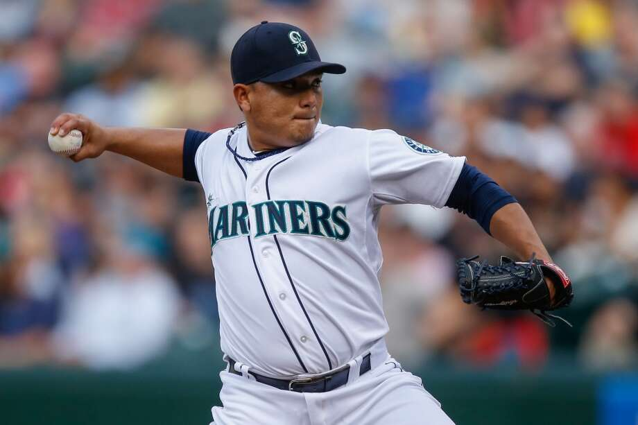 Erasmo Ramirez — SPApparently several clubs are interested in Ramirez, who was sent to Triple-A Tacoma on June 26 after compiling a 4.58 ERA for the Mariners. The M's likely wouldn't get too much in return for the inconsistent Ramirez, but it's not like they'd be giving up a whole lot, either. Photo: Otto Greule Jr, Getty Images