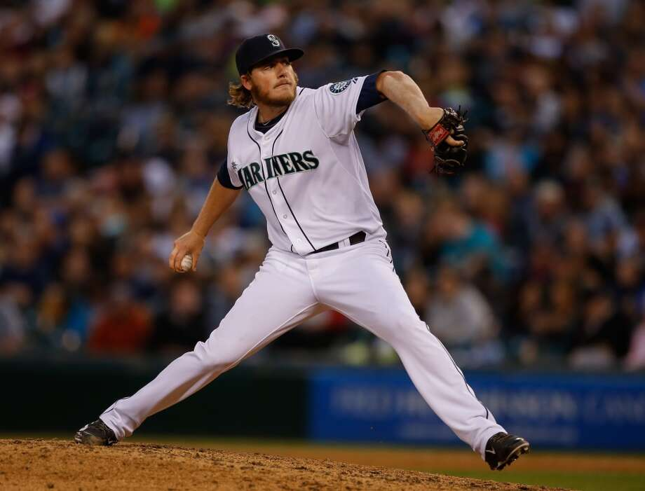 Brandon Maurer — RP After a failed stint as a starter, Maurer returned from Tacoma on June 25 as a rejuvenated reliever. Since being called back up, Maurer has not given up any runs and has nine strikeouts in four appearances. His value right now is probably the highest it'll be, so it makes sense for the Mariners to trade him now. Photo: Otto Greule Jr, Getty Images