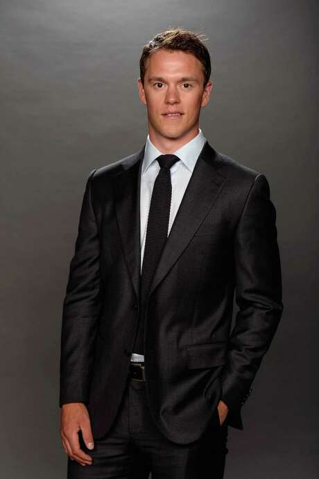 LAS VEGAS, NV - JUNE 24:  Jonathan Toews of the Chicago Blackhawks poses for a portrait during the 2014 NHL Awards at Encore Las Vegas on June 24, 2014 in Las Vegas, Nevada.  (Photo by Harry How/Getty Images) Photo: Harry How, Staff / 2014 Getty Images