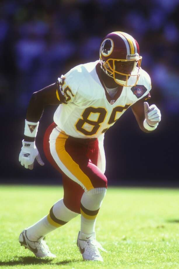Henry Ellard, Redskins                   Season: 1994       Age: 33           Catches: 74           Yards: 1,397       Touchdowns: 6 Photo: Mitchell Layton, Getty Images