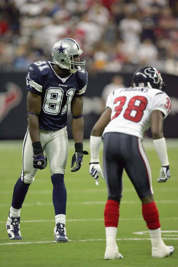 Terrell Owens, Cowboys               Season: 2007       Age: 34           Catches: 81           Yards: 1,355       Touchdowns: 15 Photo: Ronald Martinez, Getty Images