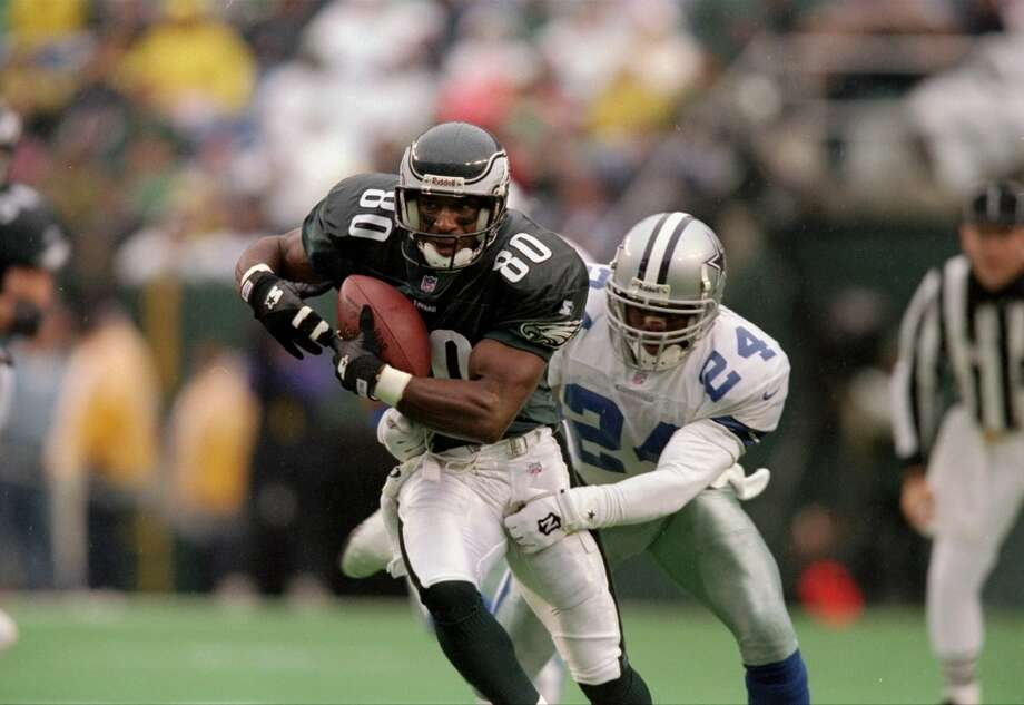 Irving Fryar, Eagles                         Season: 1997       Age: 35           Catches: 86           Yards: 1,316       Touchdowns: 6 Photo: Andy Lyons, Getty Images