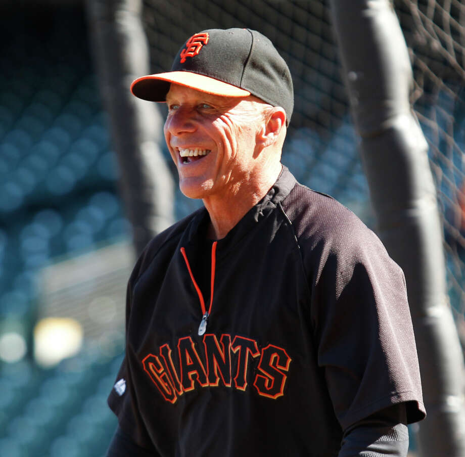 Tim Flannery, 57, coached third under manager Bruce Bochy for eight seasons in San Francisco and seven in San Diego. Photo: Beck Diefenbach / Special To The Chronicle / ONLINE_YES