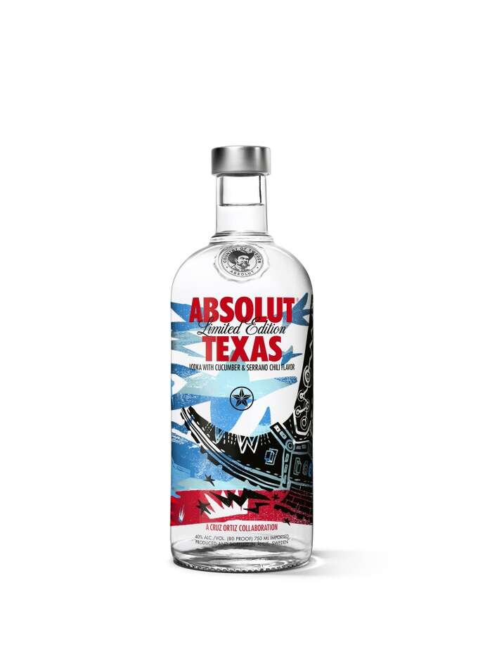 Absolut Texas Photo: Manufacturer Photo