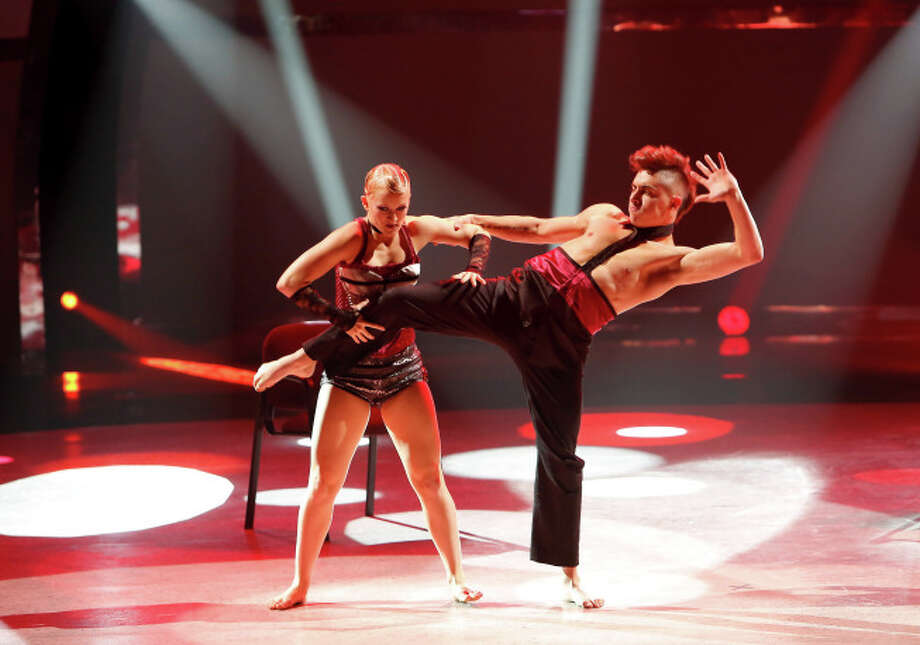 "SO YOU THINK YOU CAN DANCE: L-R: Top 20 contestants Tanisha Belnap and Rudy Abreu perform a Jazz routine to ""You Need"" choreographed by Sonya Tayeh on SO YOU THINK YOU CAN DANCE airing Wednesday, July 9 (8:00-10:00 PM ET/PT) on FOX. ©2014 FOX Broadcasting Co. Cr: Adam Rose"