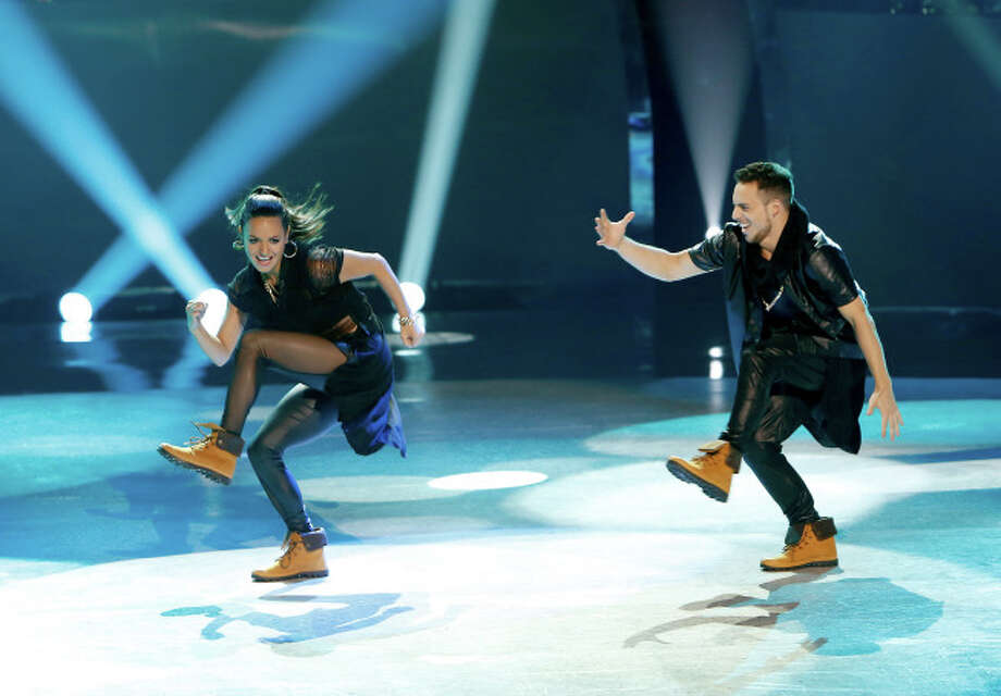 "SO YOU THINK YOU CAN DANCE: L-R: Top 20 contestants Bridget Whitman and Emilio Dosal perform a Hip-Hop routine to ""Work"" choreographed by Luther Brown on SO YOU THINK YOU CAN DANCE airing Wednesday, July 9 (8:00-10:00 PM ET/PT) on FOX. ©2014 FOX Broadcasting Co. Cr: Adam Rose"