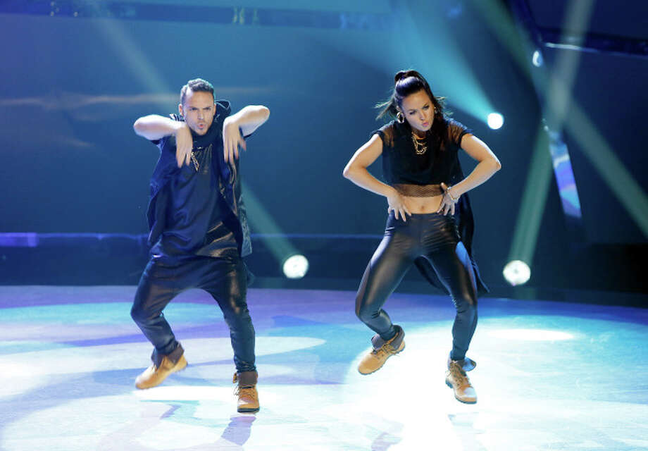 "SO YOU THINK YOU CAN DANCE: L-R: Top 20 contestants Emilio Dosal and Bridget Whitman perform a Hip-Hop routine to ""Work"" choreographed by Luther Brown on SO YOU THINK YOU CAN DANCE airing Wednesday, July 9 (8:00-10:00 PM ET/PT) on FOX. ©2014 FOX Broadcasting Co. Cr: Adam Rose"