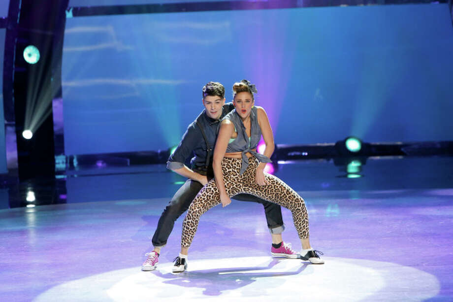 "SO YOU THINK YOU CAN DANCE: L-R: Top 20 contestants Teddy Coffey and Emily James perform a Hip-Hop routine to ""Don't"" choreographed by Dave Scott on SO YOU THINK YOU CAN DANCE airing Wednesday, July 9 (8:00-10:00 PM ET/PT) on FOX. ©2014 FOX Broadcasting Co. Cr: Adam Rose"