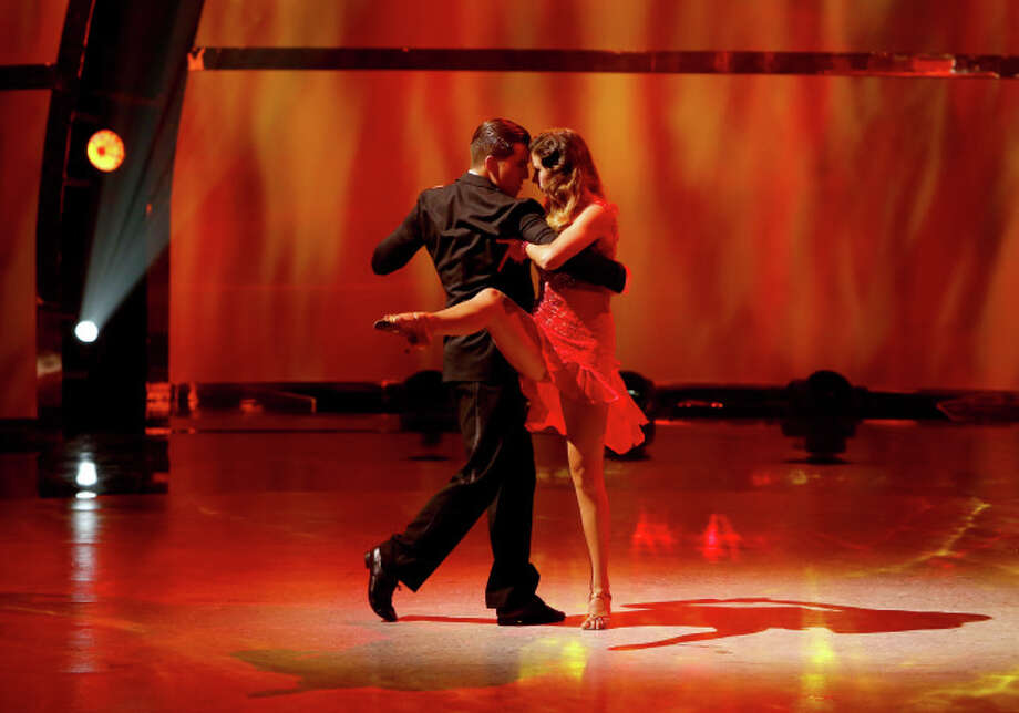 "SO YOU THINK YOU CAN DANCE: L-R: Top 20 contestants Casey Askew and Brooklyn Fullmer perform an Argentine Tango routine to ""Gallo Ciego"" choreographed by Miriam Larici & Leonardo Barrionuevo on SO YOU THINK YOU CAN DANCE airing Wednesday, July 9 (8:00-10:00 PM ET/PT) on FOX. ©2014 FOX Broadcasting Co. Cr: Adam Rose"
